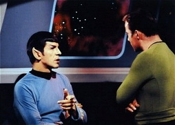 Star Trek Gallery - kirk_and_spock_on_set.jpg