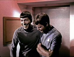 Star Trek Gallery - leonard_and_de_laugh.jpg