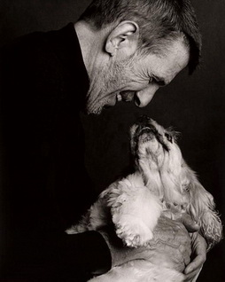 Star Trek Gallery - leonard_nimoy_dog.jpg