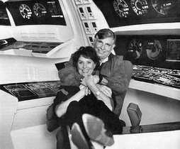 Star Trek Gallery - majel_and_gene.jpg