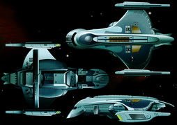 Star Trek Gallery - romulan-shuttle-3views.jpg