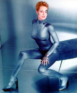 Star Trek Gallery - Jeri_Silver_suit_and_bench.jpg